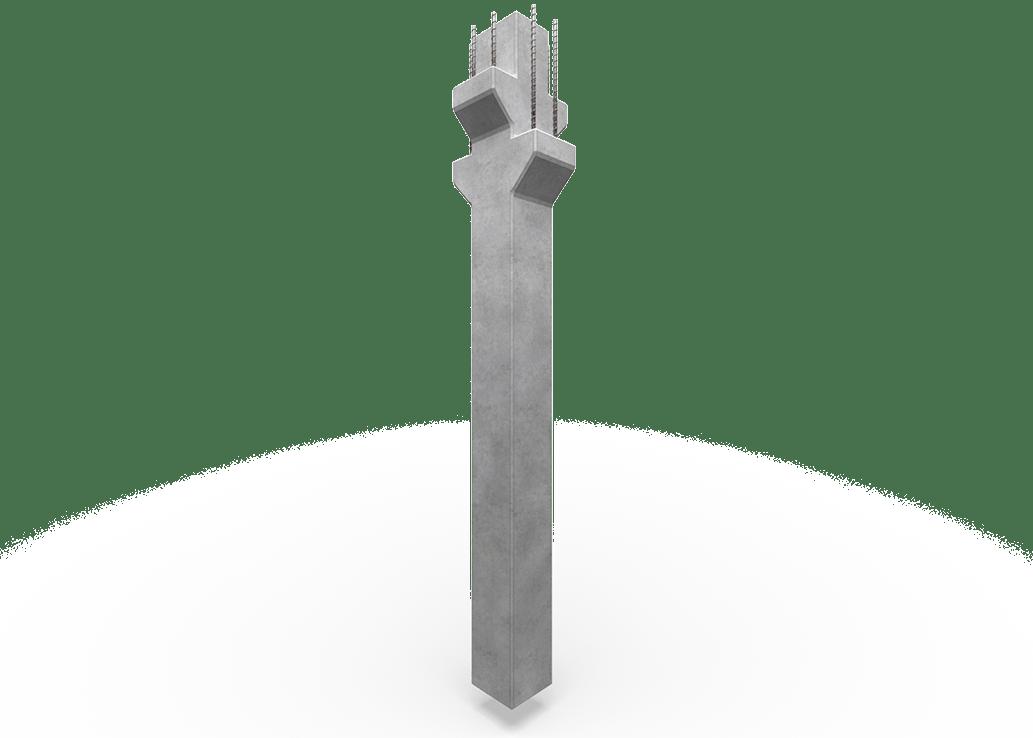 MD Beton - kolommen in gewapend beton