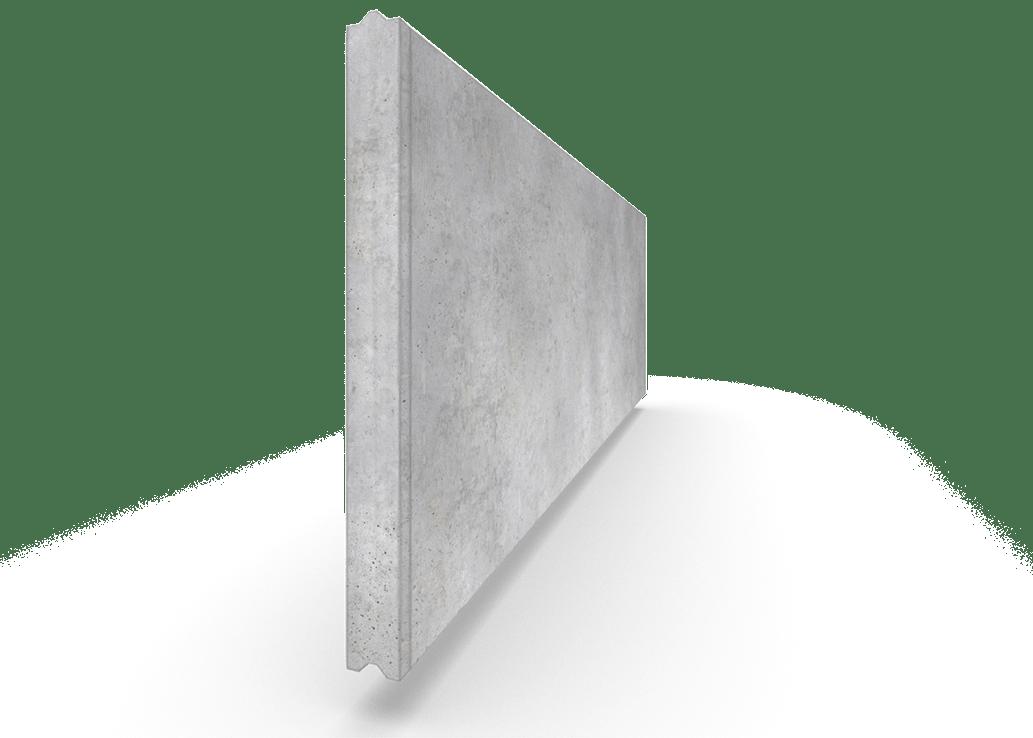 MD Beton - niet-geïsoleerde wanden in gewapend beton